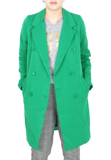 GRUNT Liv jacket Disco green