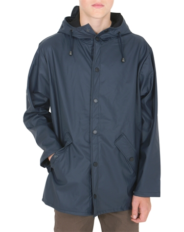 GRUNT Rain Drop Jacket Uni Navy