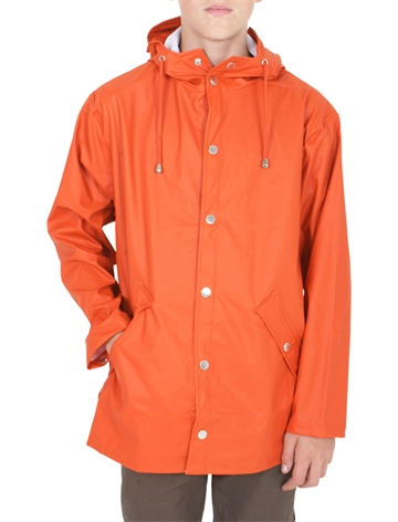 GRUNT Rain Drop Jacket Uni Orange