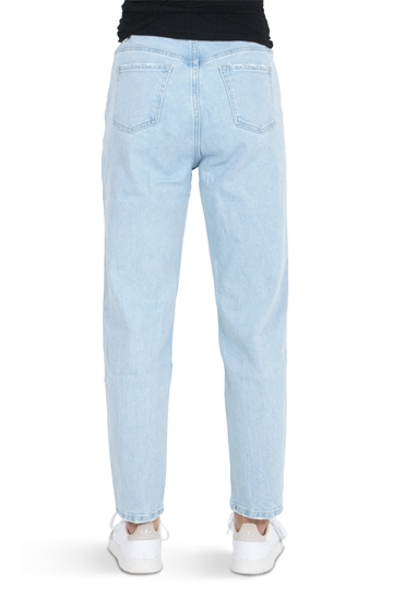 Grunt Emma Mom Ancle Jeans Pale Lt. Blue
