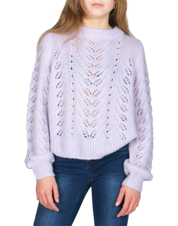 Grunt Liva knit Light Purple