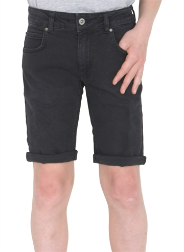 Grunt Boys Denim shorts Space dark grey