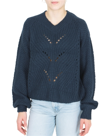 Grunt Girls sweater Hedvig Knit Night Blue