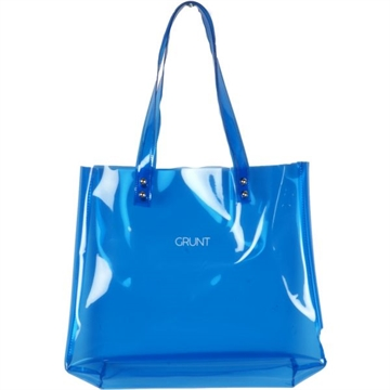 Shopper plastic blue