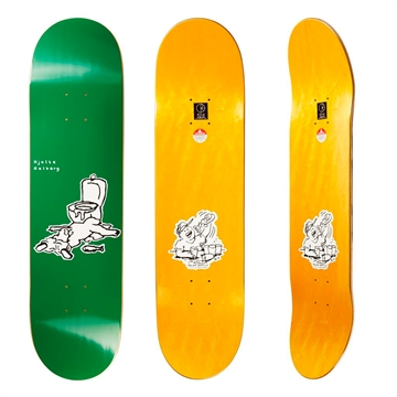 Polar Skate Co Board Hjalte Halberg After Work Green 8,125