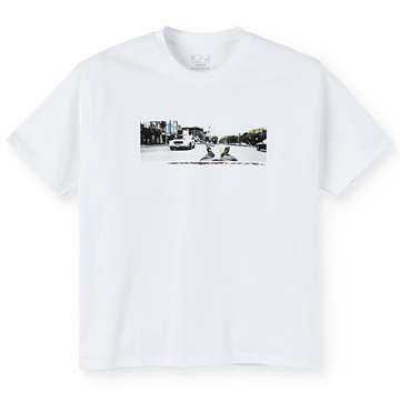 Polar Skate Co T-shirt Houston St White