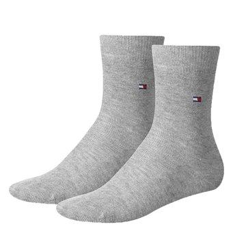32d06dcebbd Tommy Hilfiger classic socks mid grey 2-pak