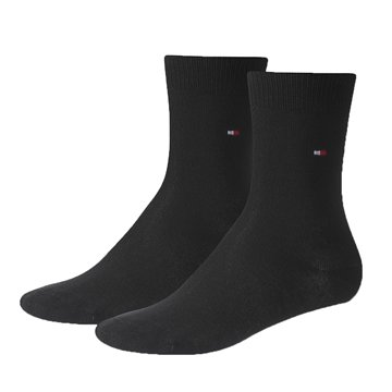 Tommy Hilfiger classic socks black 2-pack