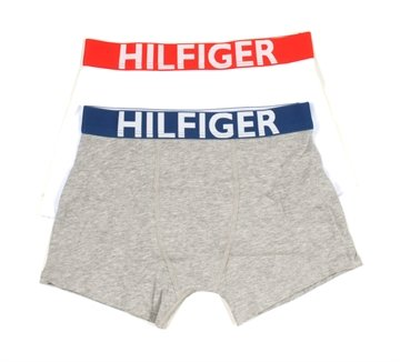 Hilfiger Boxershorts 2-pak drenge white grey heather
