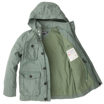 Hilfiger Jakke Leeward Field green