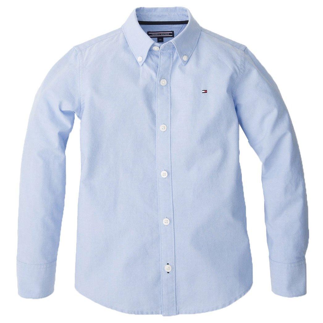 953b5babac5 Den klassiske Tommy Hilfiger Oxford skjorte til drenge 8-16 år - Bestil  idag -