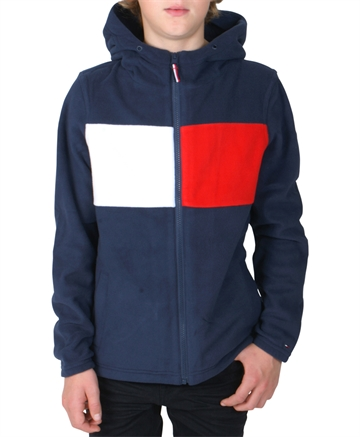 Tommy Hilfiger Boys Fleece Zip Hoodie 04425
