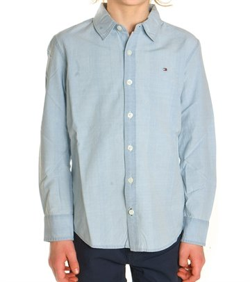 Tommy Hilfiger Boys Shirt Denim AME Bleach