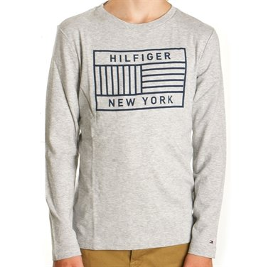 Tommy Hilfiger T-shirt l/s grey heather 03451