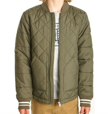 Tommy Hilfiger Boys Jacket quilted grape leaf