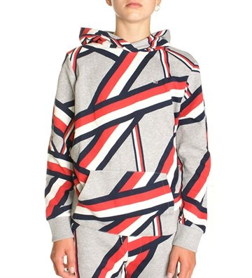 Tommy Hilfiger Hoodie global stribe sweat