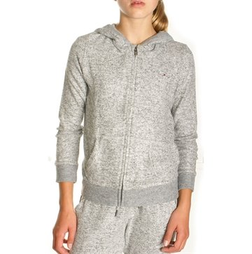Tommy Hilfiger Girls Hoodie THDW HD Grey 03079