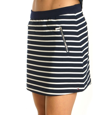 Tommy Hilfiger Girls Skirt Stripe Navy 02978