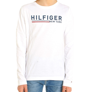 Tommy Hilfiger Boys Tee l/s White 03462
