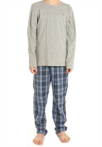 Tommy Hilfiger PJ set grey / check pants
