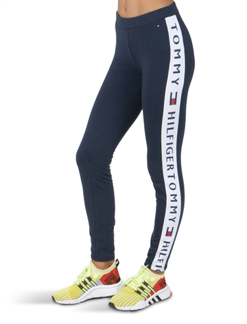 Tommy Hilfiger Girls Leggings Logo Navy 03955
