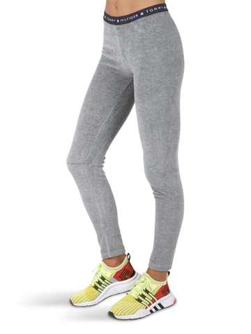 Hilfiger Girls leggings velour 03965 Grey Heather