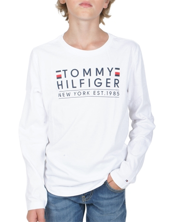 Tommy Hilfiger Boys T-shirt l/s 04277 Bright White