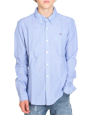 Tommy Hilfiger Boys Shirt Vertical Stripe 04294