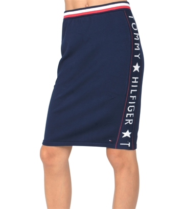 Hilfiger Girls Skirt Logo 03837 Bl. Iris