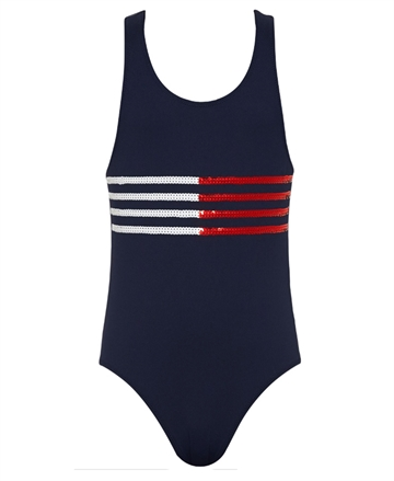 Hilfiger Girls Swimsuit navy 00100 416