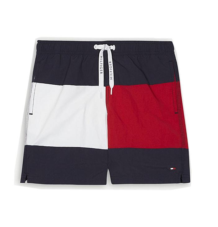f1a2f0f88b Tommy Hilfiger Boys swim shorts Drawstring 00079 416