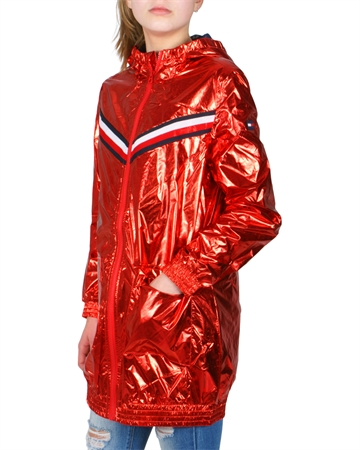 Hilfiger Girls jacket Metallic hood 03499 610