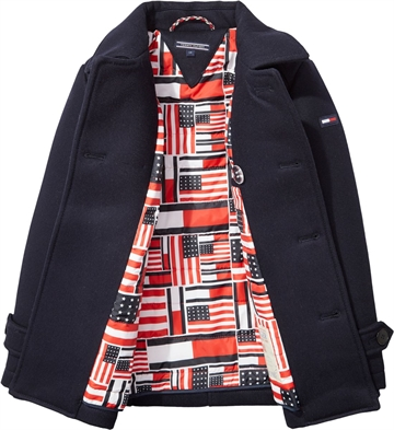 Tommy Hilfiger Boys Coat Navy 03414