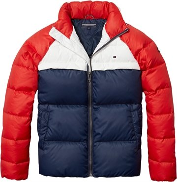 Tommy Hilfiger Girls Jacket RWB navy 02915