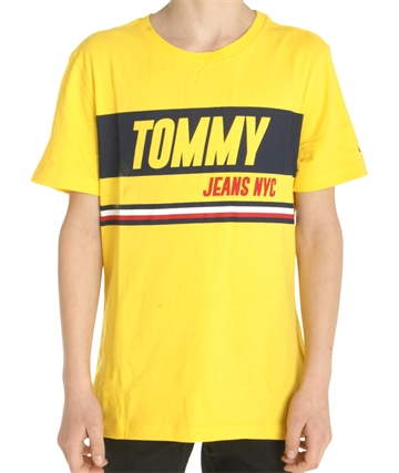 Hilfiger Boys T-shirt Sporty Block 03920 Yellow