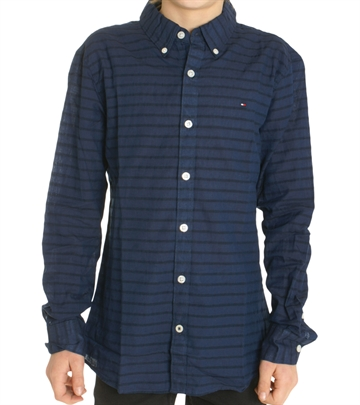 Hilfiger Boys Shirt Horizontal Stripe03873 494 navy
