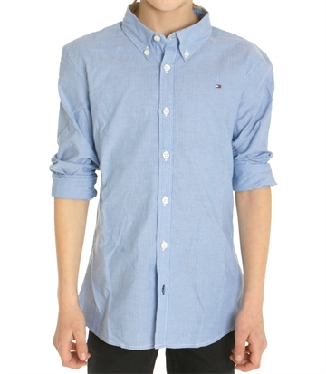 Tommy Hilfiger Boys Shirt Blue 03659