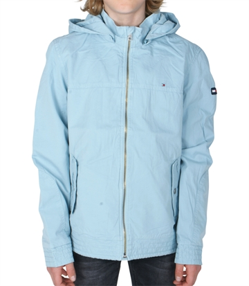 Hilfiger Boys Jacket Hooded Twill 03852 Stratosphere