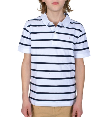 Hilfiger Boys Polo AME 03864 123 Stripe