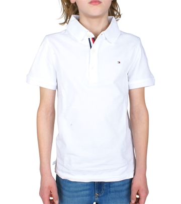 Hilfiger Boys Polo AME Slim Fit 03867 123 White