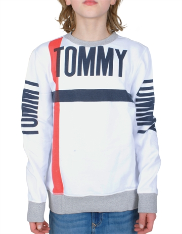 Hilfiger Boys Sweatshirt Crew Bold Text 03962 123