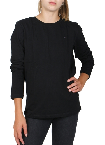 Hilfiger Tee l/s Basic Original Black