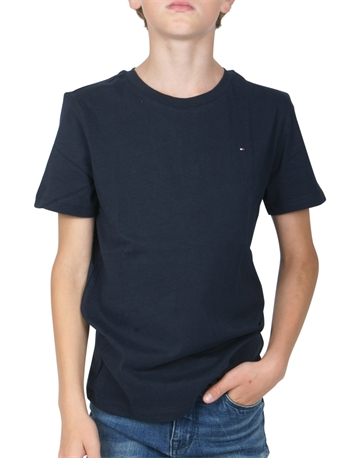 Tommy Hilfiger Junior Basic T-shirt Navy Blå - Unisex