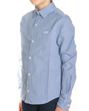 Hugo Boss Shirt l/s J25Z02 822 Blue