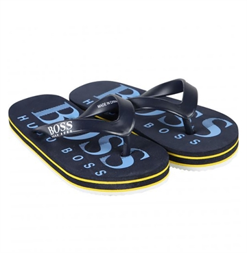 Hugo Boss Flip Flops Navy J29148