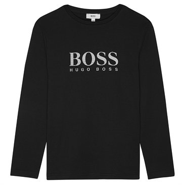 Hugo Boss T-shirt l/s J25B68 Black