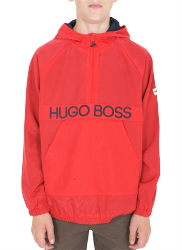 Hugo Boss Windbreaker Hooded Red J26391