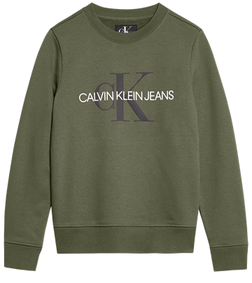Calvin Klein Boys Monogram Sweat Grape Leaf