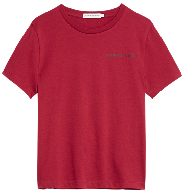 Calvin Klein  Chest Logo Tee XCE Rumba Red