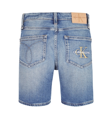 Calvin Klein Shorts 0418 Monogram Light Blue